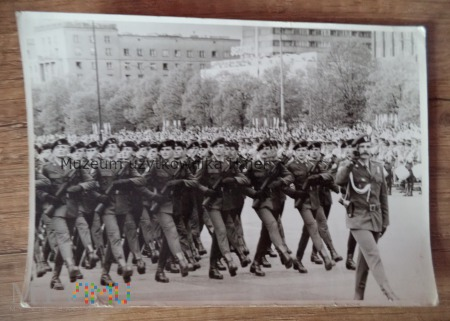 Czerwone Berety defilada Warszawa 1985