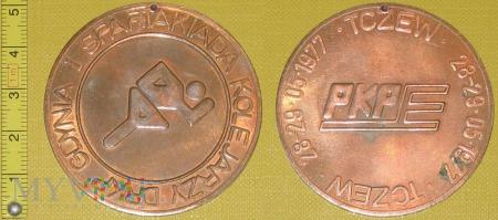 Medal kolejowy - społeczny Spartakiady Kolejarzy
