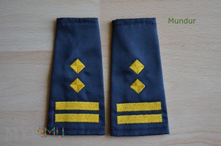 Oznaki stopnia SOK - inspektor/komendant oddz. ter