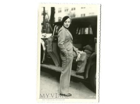 Marlene Dietrich Celuloide Stars Pocztówka 114 A
