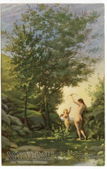 Jean Baptiste Corot - Nimfa i Amor