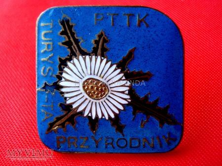 Odznaka Turysta Przyrodnik (mała brązowa)