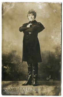 Sarah Bernhardt c. 1910 Aktorka Bert Paris