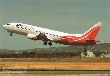 Boeing 737-4Q8, SP-LLK
