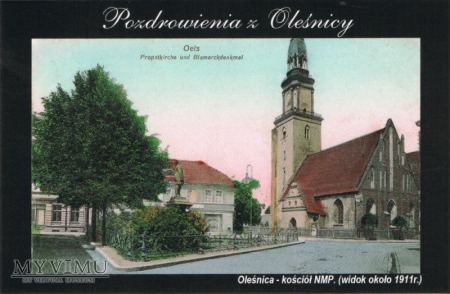 Pozdrowienia z Oleśnicy