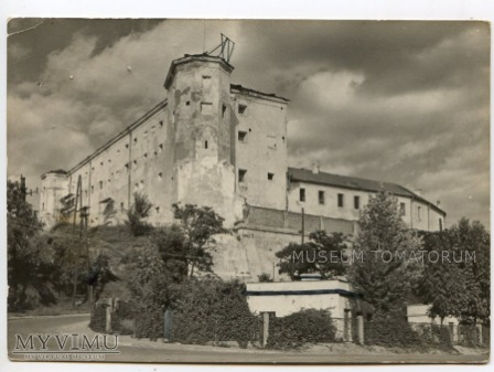 Sandomierz - Zamek - lata 60-te