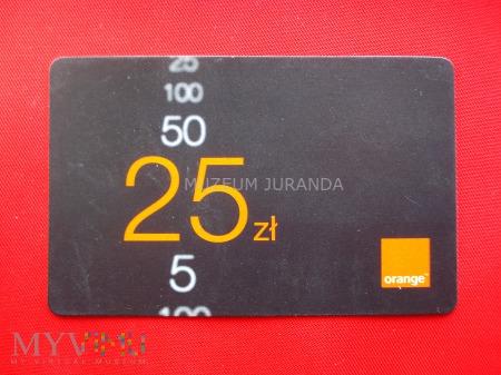 Orange 25 zł.(2)