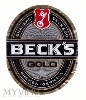 Duże zdjęcie beck's gold