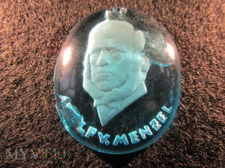 Szklane medaliony-KWHW Adolf von Menzel