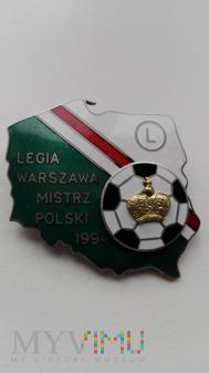 Legia Warszawa - Mistrzostwo Polski 1994