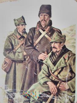 Rumuńscy żołnierze I WŚ