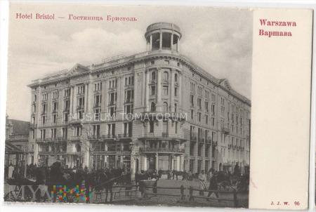 W-wa - Krakowskie Przed.- Hotel Bristol ok. 1910