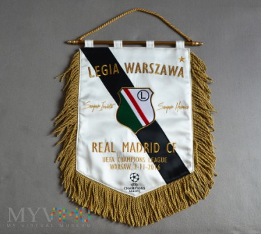 2016 / Legia - Real Madryt / Liga Mistrzów