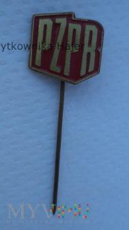 PZPR odznaka lakierowana