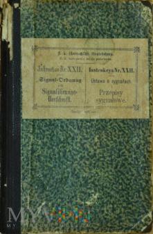 1899 - Ustawa o sygnałach i przepisy sygnałowe
