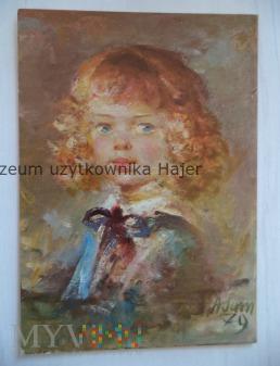 Adamczyk Marian - Portret córeczki