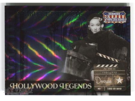 Marlene Dietrich karta kolekcjonerska nr 284