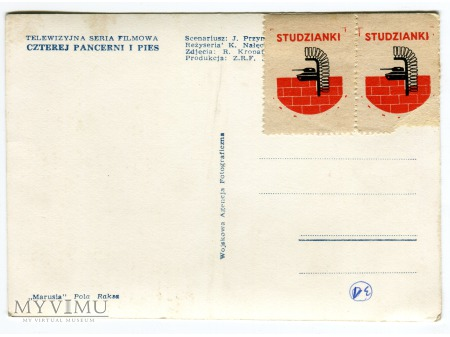 Czterej Pancerni i Pies Marusia Pola Raksa c. 1969