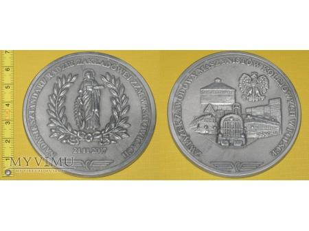 Duże zdjęcie Medal kolejowy - związkowy ZZM