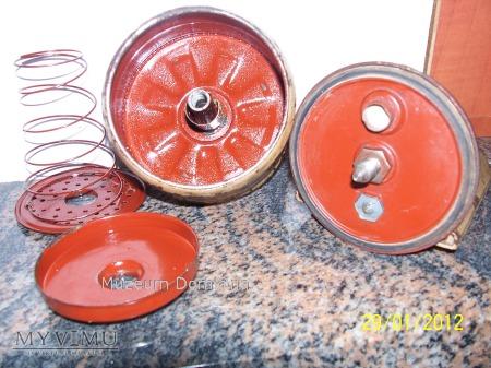 STALOWA LAMPA WH/ SS - model 42 / Sygnatura -nkv-
