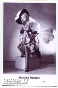 Marlene Dietrich Swiftsure Postcards 17/4
