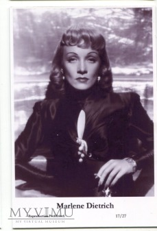 Marlene Dietrich Swiftsure Postcards 17/27