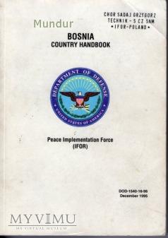 Bosnia country handbook