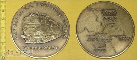 Medal kolejowy - przewozowy PKP CARGO S.A.