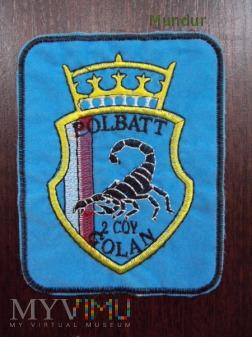 Oznaka misyjna POLBATT 2 COY Golan
