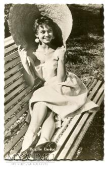 Brigitte Bardot Niemcy Kolibri Postcard Pocztówka