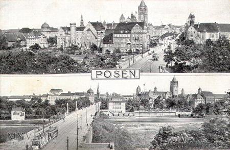 Most Uniwersytecki i Most Teatralny w Poznaniu