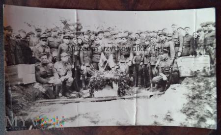Pochówek żołnierzy LWP II WŚ