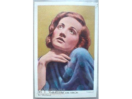 Marlene Dietrich karta nr 29 In Filmland Holandia