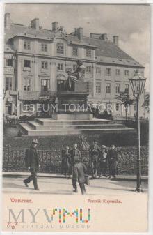 W-wa - pomnik Kopernika przed 1915