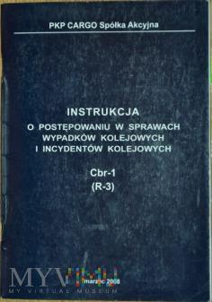 2008 - Instrukcja o wypadkach kol. Cbr-1 PKP CARGO