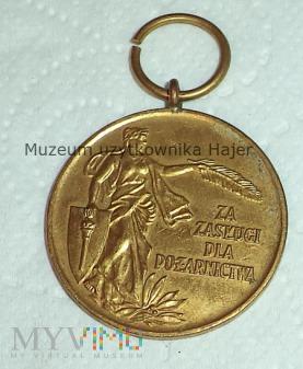 Za Zasługi dla Pożarnictwa - medal