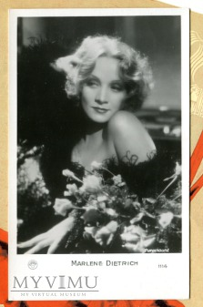 Marlene Dietrich EUROPE nr 1114