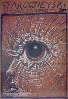 Franciszek Starowieyski, plakat do wystawy w MoMA