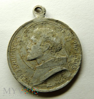 Medalik Św. Franciszek 1926