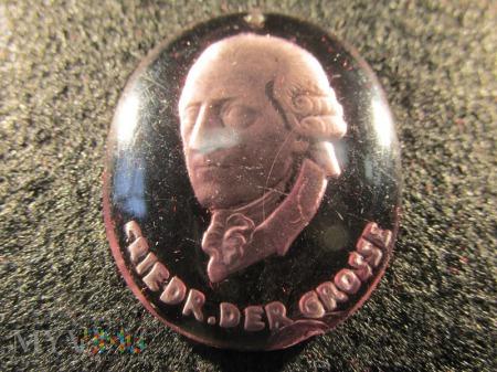 Szklane medaliony-KWHW Friedrich der Grosse