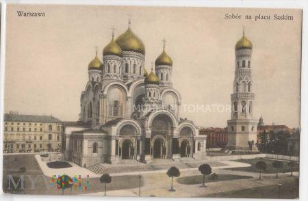 W-wa - Cerkiew św. Aleksandra Newskiego - 1912 ok.
