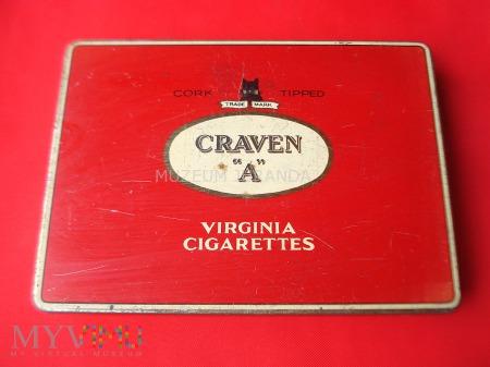 """Duże zdjęcie Opakowanie papierosów CRAVEN """"A"""""""