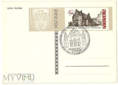 50-lecie Uniwersytetu im. A. Mickiewicza w Poznani