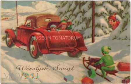 Wesołych Świąt - lata 40-te XX w.