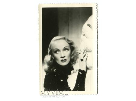 Marlene Dietrich Celuloide Stars Pocztówka 179