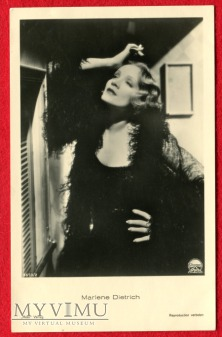 Duże zdjęcie Marlene Dietrich Verlag ROSS 6673/2