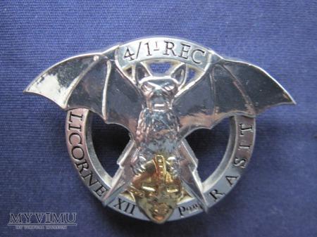 Peloton RASIT du 4e escadron- LICORNE, 2007/złota