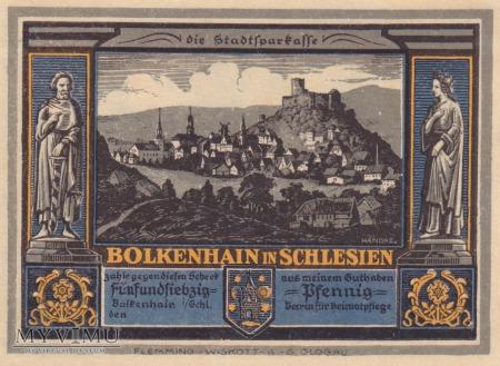 Notgeld Bolkenhain in Schlesien 75 Pfg.
