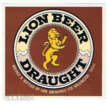 lion breweries wellington - lion beer draught