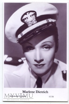 Marlene Dietrich Swiftsure Postcards 17/35